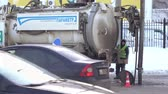 chupar : Sewage machine on the street