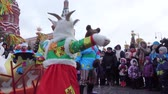 festividades : Folk holiday Maslenitsa Stock Footage