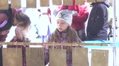 кольцо : Playing on a bile an old musical instrument