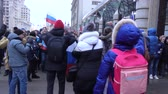 протест : Rally in support of the boycott in 2018