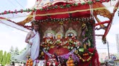 ratha : Ratha Yatra in city of Dnepr