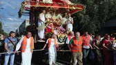 krishna : Ratha Yatra in city of Dnepr