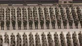 maket : Construction of soldiers on parade ground