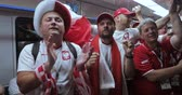 contagem : Football fans of Poland Metro