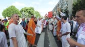 etnický : Ratha Yatra in city of Dnepr