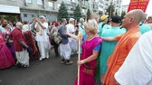 ukrán : Ratha Yatra in city of Dnepr