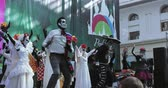horror : Mexican Carnival Celebration of the dead