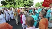 ucraniano : Ratha Yatra in city of Dnepr
