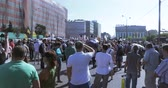 dayanışma : The protesters are chanting No pension reform and Putin is a thief