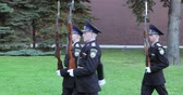 carbine : Changing the guard near the eternal flame