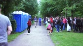 Public toilets in the park