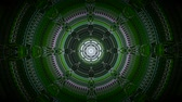 felcsavar : Circle kaleidoscope effect tone. Water through the drains drain along with flowering grass abstract background