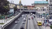hodina : Traffic on the Highway in Kiev