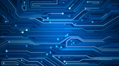 information : Blue Circuitry Background Stock Footage