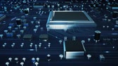 information : Motherboard Technology Stock Footage