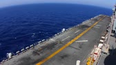 strength : US Navy Time Laps Flight Deck Stock Footage