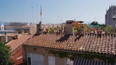 navarre : Roofs of a typical small Spanish town
