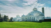 strop : Buffalo, New York - Oct, 2016: The Buffalo and Erie County Botanical Gardens Timelapse