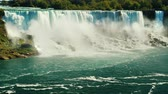 quebra : Fabulously beautiful Niagara Falls. View from the Canadian coast