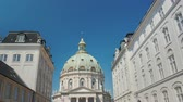 copenhague : The Church of Frederick or the Marble Church is a Lutheran church, one of the attractions of Copenhagen