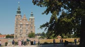 copenhague : Copenhagen, Denmark, July 2018: Rosenborg - the former residence of the Danish kings, built on the orders of King Christian IV on the outskirts of Copenhagen in 1606-1624