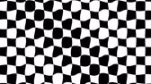 opções : Motion background with optical illusion (wave made from checkered graphic)
