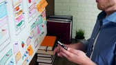 Creative UX designer doing usability research for mobile application