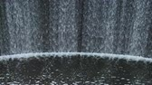 tourbillon : Water flow over a dam of an old hydroelectric power station.
