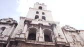 CUBA, HAVANA - OCTOBER 15, 2016: San Francisco square havana cuba city tour Slow motion.