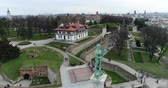 památka : Aerial view of Viktor monument in Belgrade