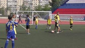 football field : Orenburg, Russia - June 2, 2019 year Lokobol-2019