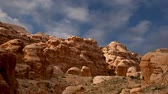nabataean : Mountains of Petra Jordan Middle East. Petra has been a UNESCO World Heritage Site since 1985
