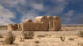 fresk : Quseir Qasr Amra desert castle near Amman Jordan. World heritage with famous fresco39s. Built in 8th century by the Umayyad caliph Walid II the castle is one of the most important examples of early Islamic art and architecture