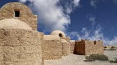 ibn : Quseir Qasr Amra desert castle near Amman, Jordan. World heritage with famous frescos. Built in 8th century by the Umayyad caliph Walid II, the castle is one of the most important examples of early Islamic art and architecture