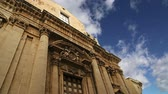 esculpir : CATHEDRAL OF SYRACUSE Siracusa, Sarausa-- historic city in Sicily, Italy
