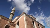 defensiva : Mosque in Old Town, Rhodes, Greece time lapse Stock Footage