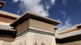 nobre : Alhambra Palace - medieval moorish castle in Granada, Andalusia, Spain