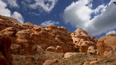 nabataean : Mountains of Petra, Jordan, Middle East.