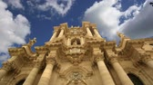 divórcio : CATHEDRAL OF SYRACUSE (Siracusa, Sarausa) - historic city in Sicily, Italy