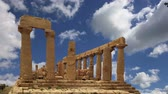 classic : Ancient Greek Temple of Juno (V-VI century BC), Valley of the Temples, Agrigento, Sicily.