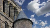 brittany : Mont Saint-Michel, Normandy, France - one of the most visited tourist sites in France.