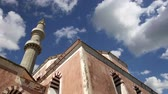 defensiva : Mosque in Old Town, Rhodes, Greece (time lapse)