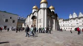 cathedral : Inside of Moscow Kremlin, Russia (day)