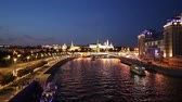 postavený : View of the Kremlin and Moskva River, Moscow, Russia - the most popular view of Moscow Dostupné videozáznamy
