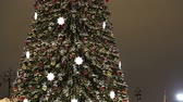 salvador : Christmas (New Year holidays) decoration in Moscow (at night), Russia -