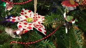 fir : Beautiful christmas tree with decorative chritmas toys