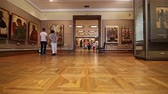 expose : The State Tretyakov Gallery-- is an art gallery in Moscow, Russia, the foremost depository of Russian fine art in the world. Gallerys history starts in 1856. Hall of artist V.Vasnetsov. Collection - 130,000 exhibits