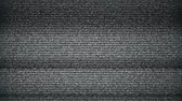 fundo preto : TV Noise background. seamless loop