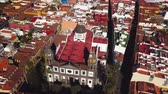 campanário : View from the height on Cathedral and townscape San Cristobal De La Laguna, Tenerife, Canary Islands, Spain
