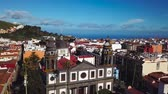 canárias : View from the height on Cathedral and townscape San Cristobal De La Laguna, Tenerife, Canary Islands, Spain